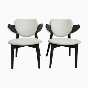 Vintage French Armchairs, 1980s, Set of 2