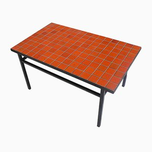 Ceramic and Tile Coffee Table, 1960s