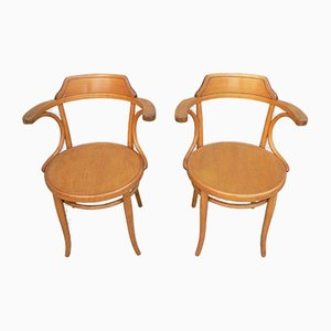 Armchairs from Thonet, Set of 2