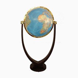 Grand Globe Terrestre Lumineux Duo Vintage de Columbus