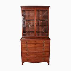 Antique Mahogany Secretaire, 1800s