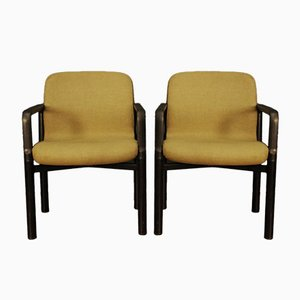 Fabric and Metal Armchairs from Froscher , 1960s, Set of 2
