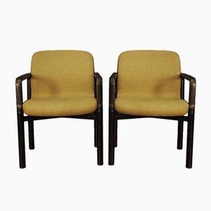 Sessel aus Stoff & Metall von Froscher, 1960er, 2er Set