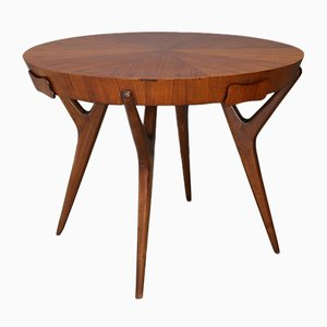 Italian Mahogany Dining Table by Ico & Luisa Parisi, 1950s
