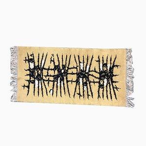 Skandinavischer Teppich aus Baumwolle & Wolle, 1950er