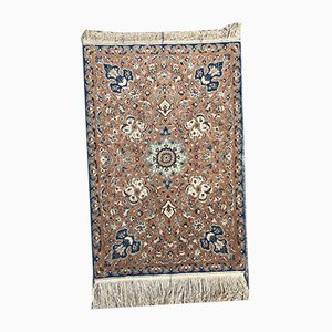 Kleiner orientalischer Vintage Teppich aus Baumwolle & Wolle, 1970er