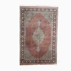 Tapis Oriental Vintage en Coton et Laine, 1980s