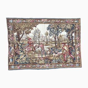 Vintage French Wool Tapestry, 1980s