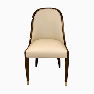 Dining Chair with Wide Curved Backrest from ADM