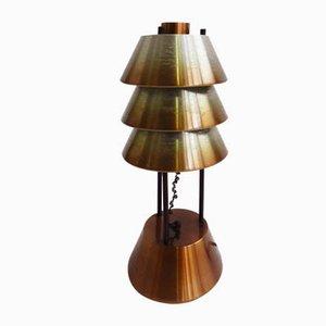 Lampada da tavolo in alluminio di Stilnovo, Italia, anni '50