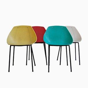 Vintage Stühle von Pierre Guariche für Meurop, 4er Set