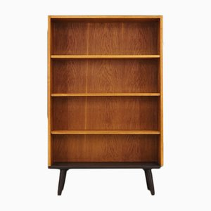 Mid-Century Danish Ash and Veneer Bookcase, 1960s