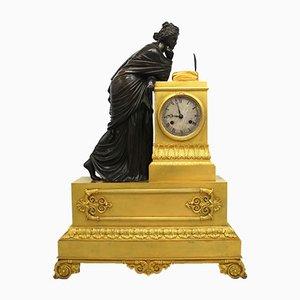 Antique Empire French Ormolu Pendulum Clock