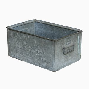Vintage Industrial Box or Planter from Schäfer
