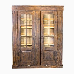 Large Antique Pine Cabinet