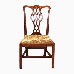 George III Chippendale Stuhl aus Mahagoni, 1760er