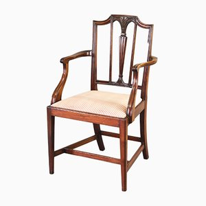 Antique Mahogany Armchair, 1900s