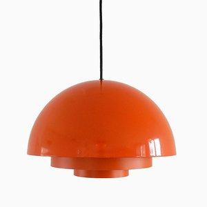 Dänische Deckenlampe aus Metall von Johannes Hammerborg für Fog & Mørup, 1970er