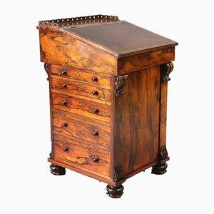 Antiker Davenport Schreibtisch aus Palisander