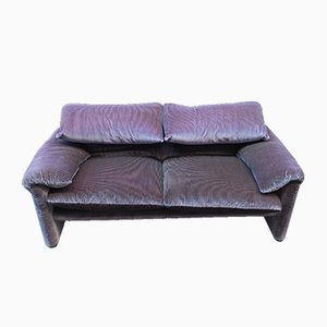 Vintage Maralunga 2-Seater Sofa by Vico Magistretti for Cassina