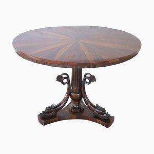 Tavolo da pranzo antico in noce, fine XIX secolo