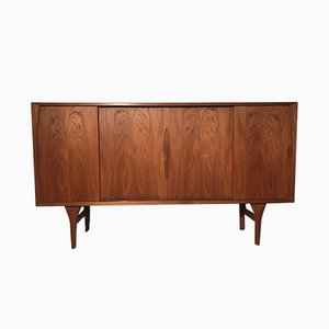 Vintage Danish Teak Sideboard by Henning Kjærnulf for Bruno Hansen, 1950s