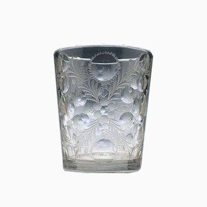 Bohemien Tumbler aus geschliffenem & graviertem Glas, 1720er