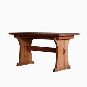 Grande Table Scandinave en Pin par Axel Einar Hjorth pour Nordiska Kompaniet, 1930s