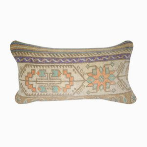 Vintage Turkish Oushak Rug Pillow Cover from Vintage Pillow Store Contemporary