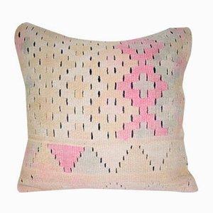 Großer viereckiger türkischer Kelim Kissenbezug von Vintage Pillow Store Contemporary