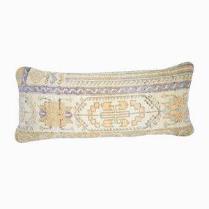 Federa fatta a mano con motivo floreale di Vintage Pillow Store Contemporary, Turchia