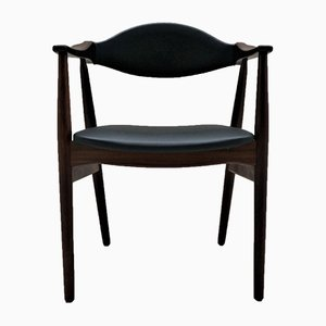Skandinavischer Vintage Armlehnstuhl aus Teak
