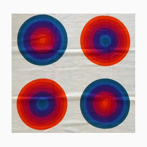Vintage Disks II 803 Prototype Fabric by Verner Panton for Mira X