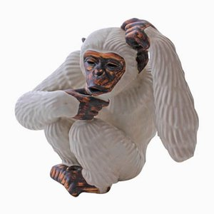 Schwedischer Vintage Schimpanse von Gunnar Nylund für Gustavsberg