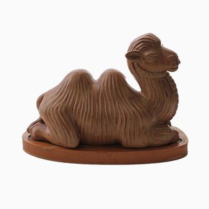Vintage Swedish Camel by Gunnar Nylund for Gustavsberg
