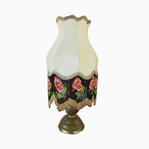 Mid-Century Lampe mit Glasperlen