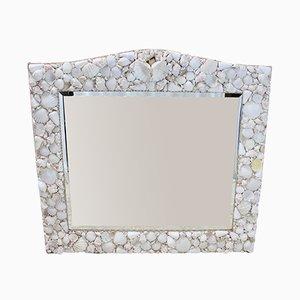 Mid-Century Rustic Mirror