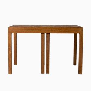 Teak & Formica Nesting Tables by Svante Skogh for Seffle Möbelfabrik, 1960s