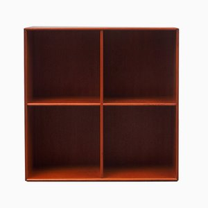 Vintage Mahogany Shelf, 1970s