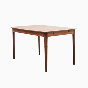 German Teak Veneer Dining Table from Lübke, 1960s