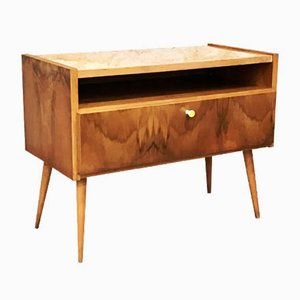 Mobiletto Mid-Century in legno, anni '60