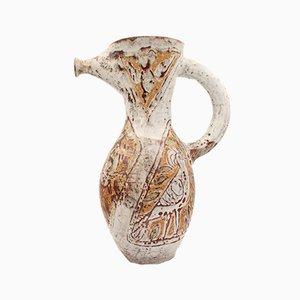 Mid-Century French Ceramic Zoomorphic Vase, 1960s