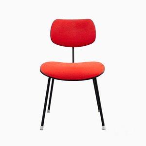 Silla de escritorio SE 68 roja de Egon Eiermann para Wilde+Spieth, años 50