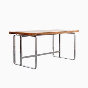Vintage Schreibtisch aus Palisander & Stahl, 1970er