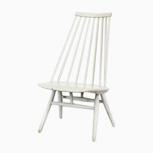Mademoiselle Beistellstuhl aus Holz von Ilmari Tapiovaara für Eosby Verken, 1950er