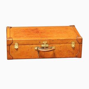 Vintage Koffer aus Leder von Hermès