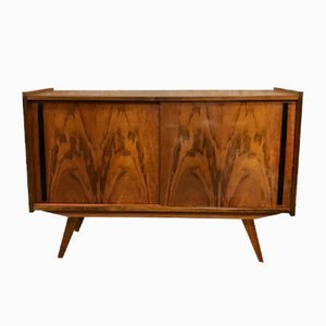 Mid-Century Sideboard with Sliding Doors, 1960s