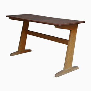 Mid-Century Beech School Desk from Casala