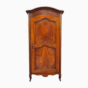 18th Century French Louis XV Walnut Cabinet