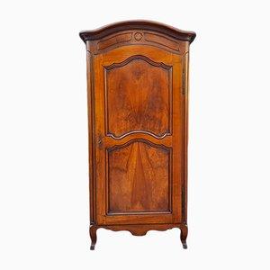 18th Century French Louis XV Walnut Cabinet